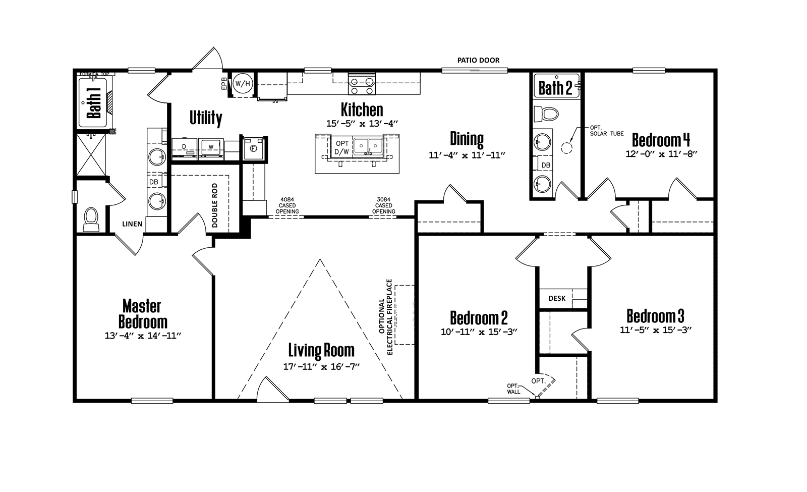 Legacy C-3256-32K - 3 Bed -  Bath at New Start Homes in El Paso